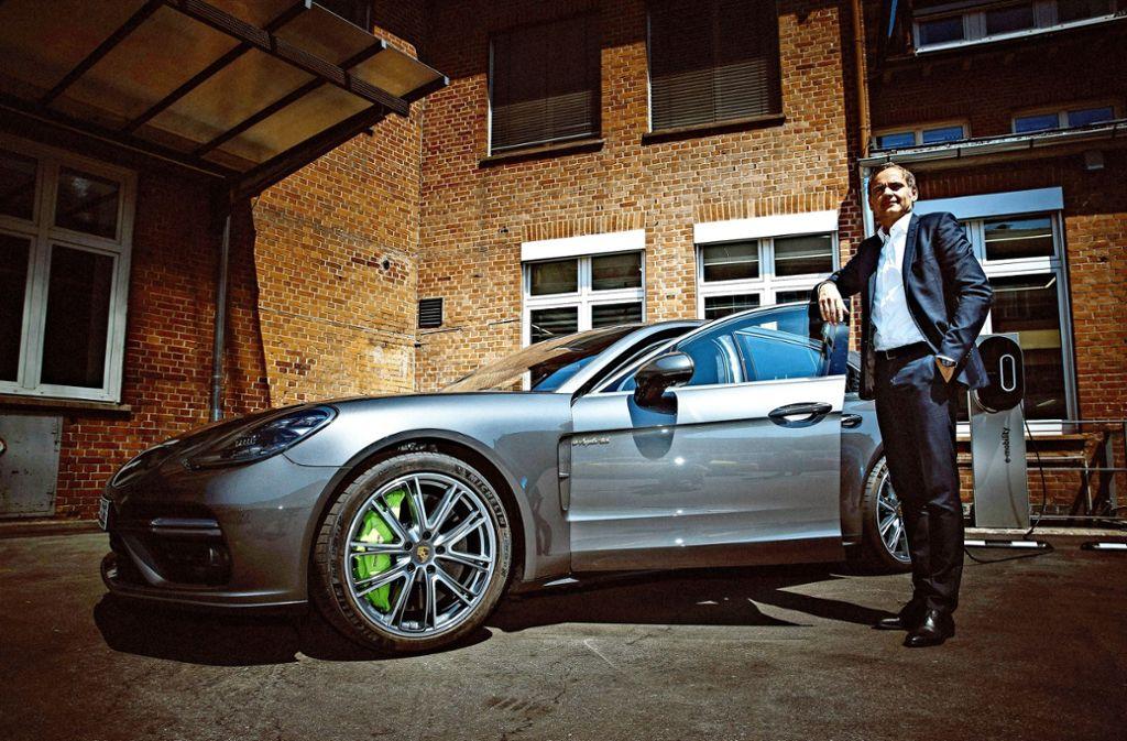 Porsche-Chef Oliver Blume verändert die Führungskultur in der Autobranche. Foto: Lichtgut/Leif Piechowski