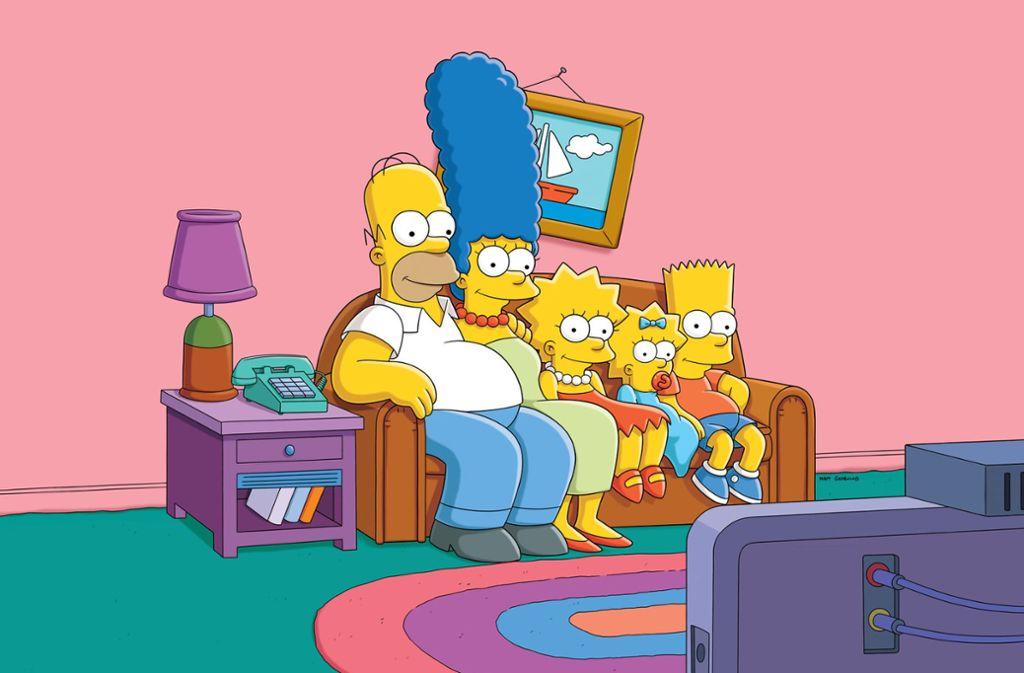 """Der kreative Kopf hinter der Serie """"Simpsons"""" Michael Mendel ist tot. Foto: dpa/Maurizio Gambarini"""