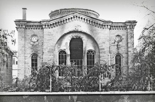 Um 3 Uhr früh brannten die Synagogen nieder