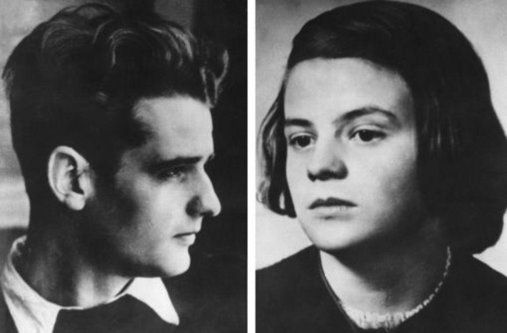 Sie waren die bekanntesten Mitglieder der Widerstands-Gruppe Weiße Rose: Die Geschwister Hans und Sophie Scholl. Foto: dpa