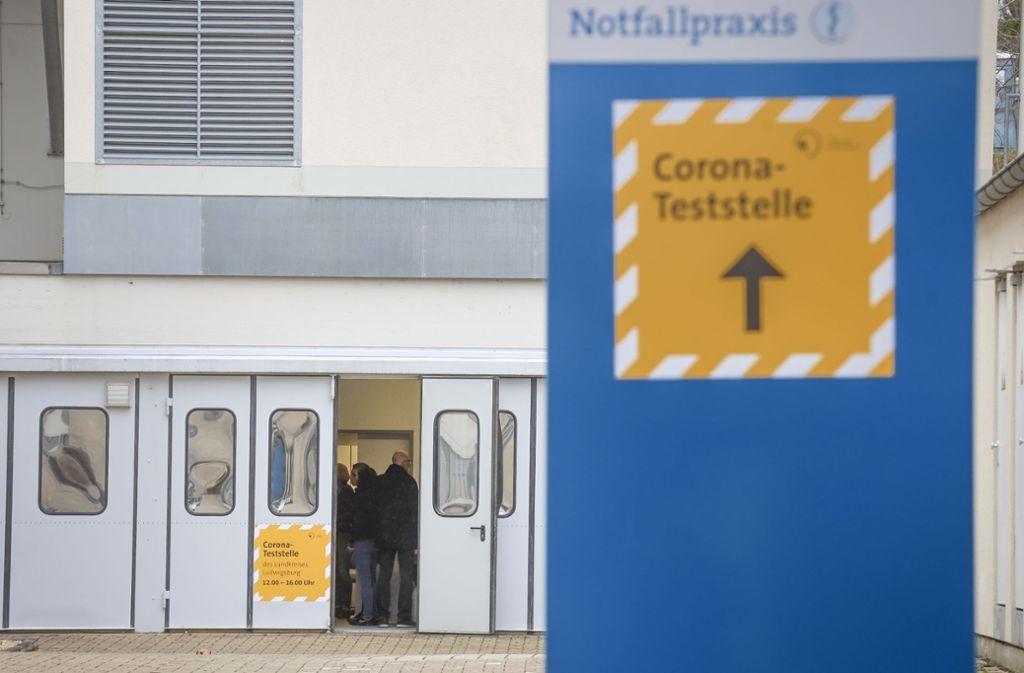 Die Test-Kapazitäten sind seit Dienstag aufgestockt worden. Foto: factum/Simon Granville