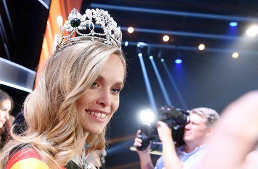 Stuttgarter Polizei lockt Nachwuchs mit Miss Germany