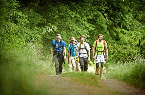 Schnellläufer und Langsamwanderer