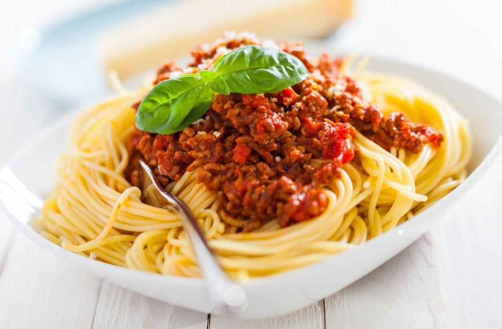 Wie nennt man korrekt Spaghetti mit Fleischsoße? Darüber scheiden sich die Geister. Foto: