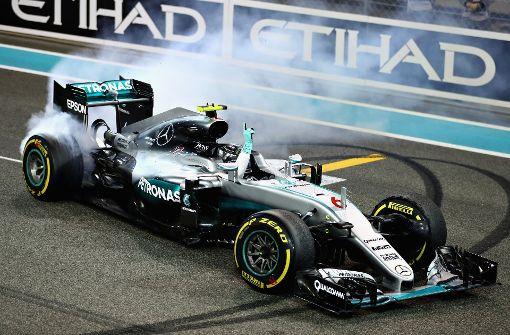 Nico Rosberg bringt den Silberpfeil nach Stuttgart