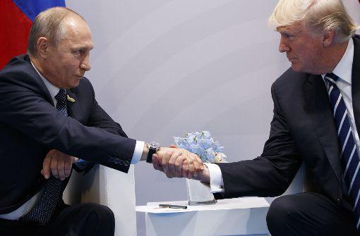 Trump erntet Spott nach Treffen mit Putin