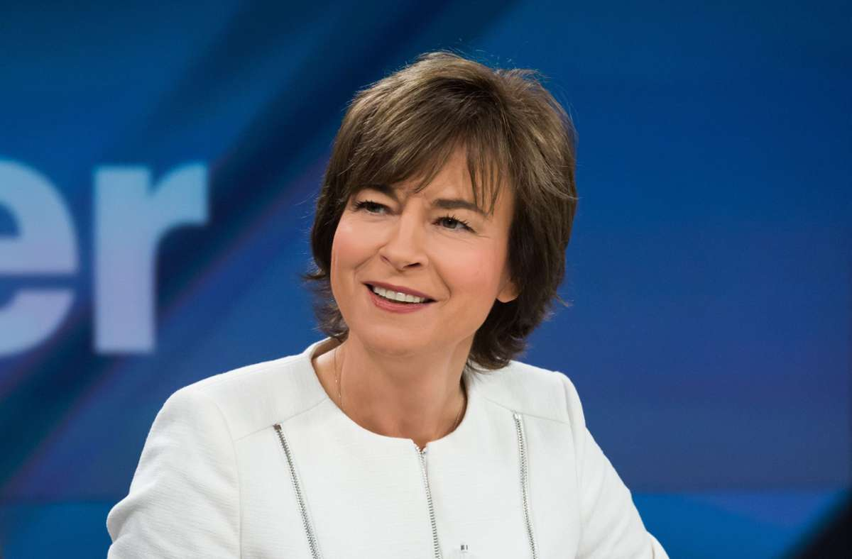 ZDF-Moderatorin Maybrit Illner wollte wissen, wie es weitergeht. Foto: ZDF und Jule Roehr/Jule Roehr