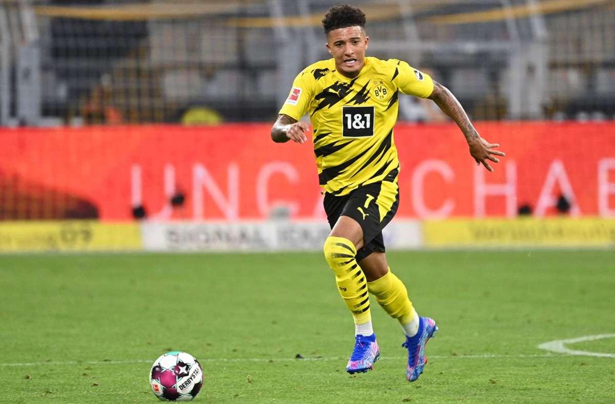 Jadon Sancho verlässt Borussia Dortmund. Foto: AFP/Ina Fassbender