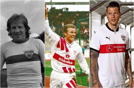 So haben sich die Trikots des VfB verändert