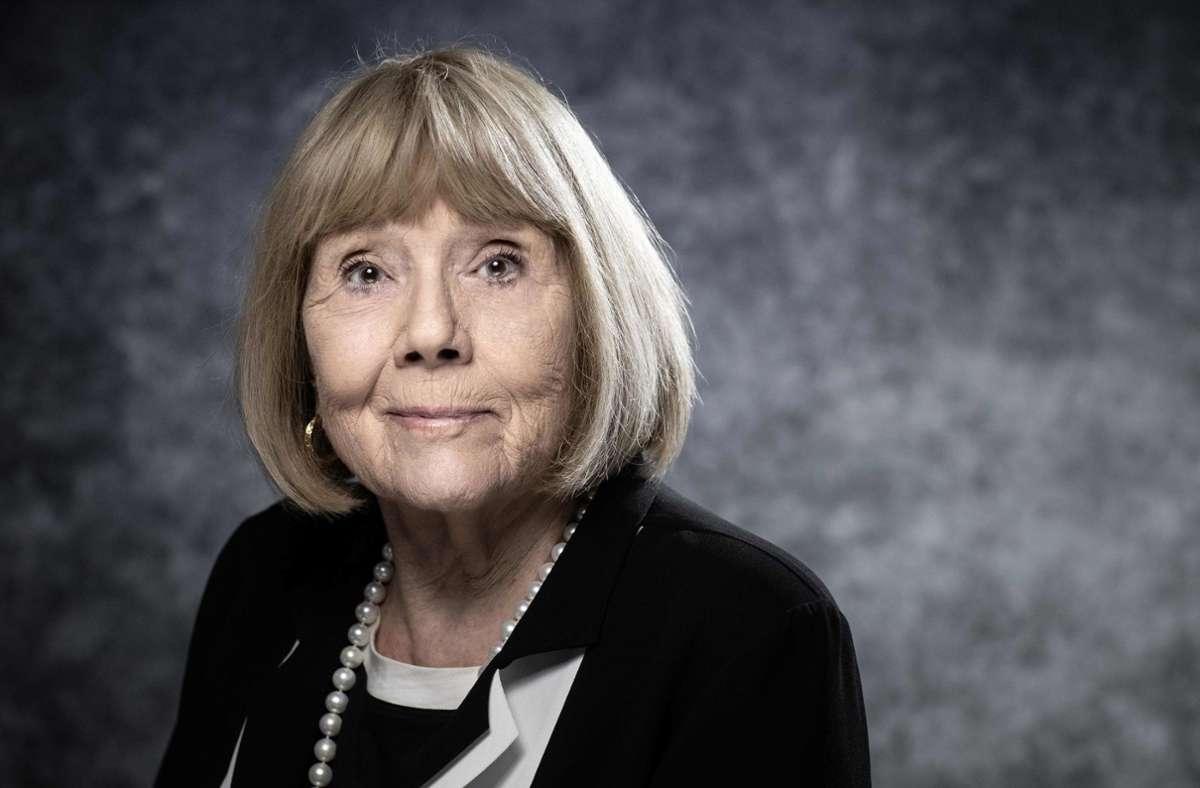 Diana Rigg starb im Alter von 82 Jahren an den Folgen einer Krebserkrankung. Foto: AFP/JOEL SAGET