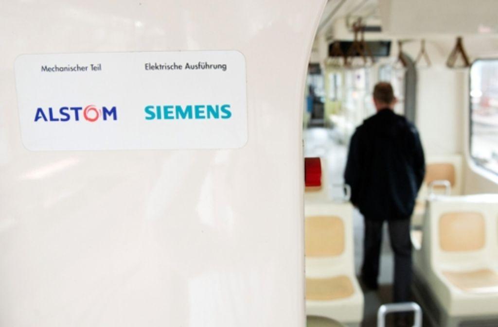 Übernimmt Siemens demnächst den französischen Alstom-Konzern? Foto: dpa