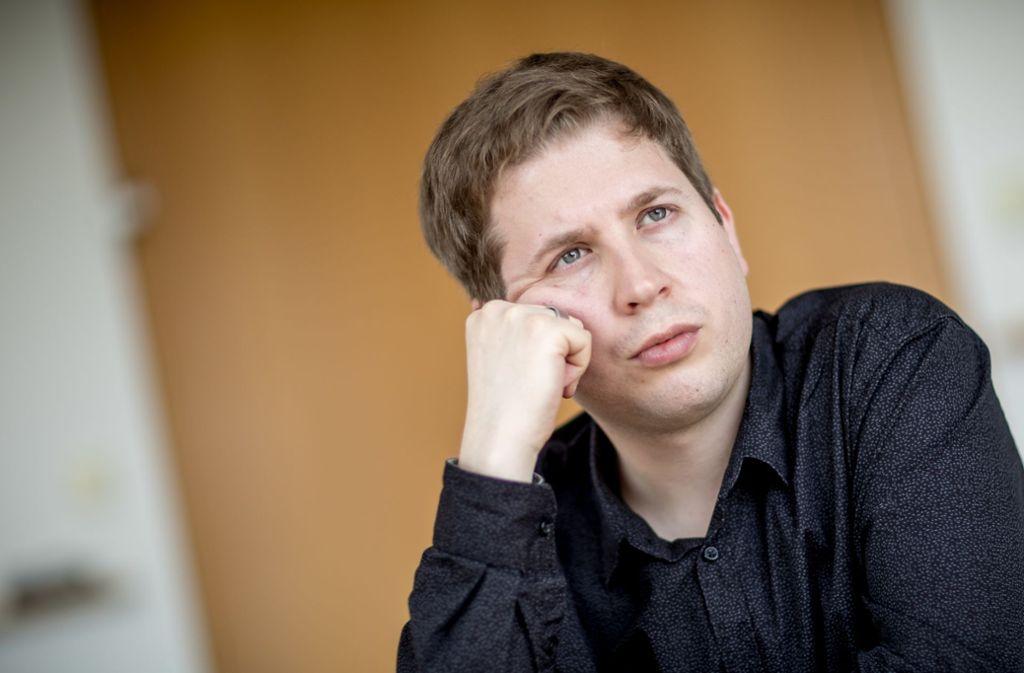 Juso-Chef Kevin Kühnert gilt als größtes Talent der SPD. Foto: Michael Kappeler/dpa/Michael Kappeler
