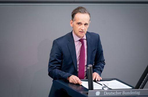 Bundesaußenminister Heiko Maas muss in Quarantäne