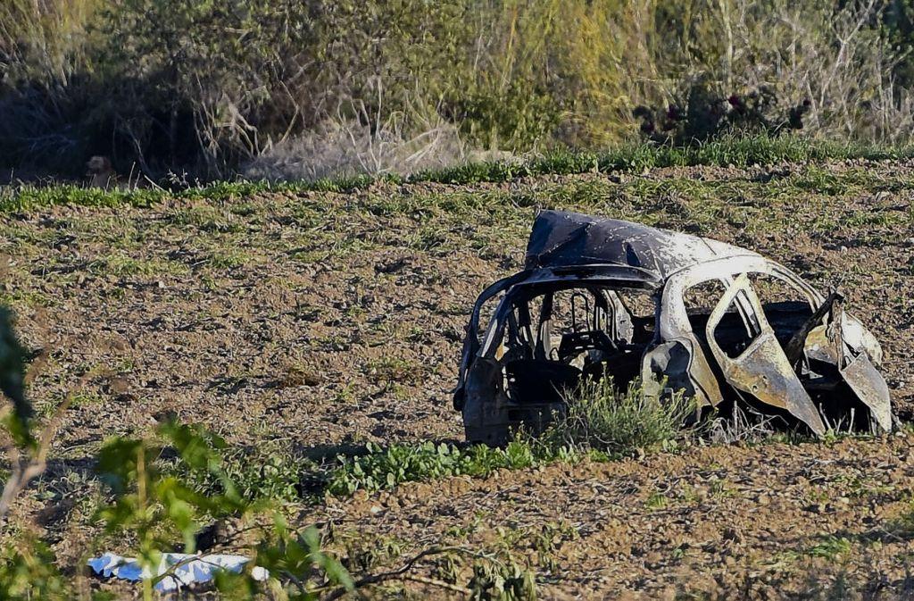 Die Journalistin Daphne Caruana Galizia ist durch eine Autobombe getötet worden. Foto: AP