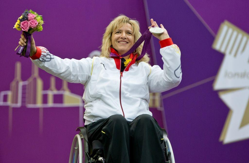 Manuela Schmermund holte 2012 in London die Silbermedaille. Foto: dpa