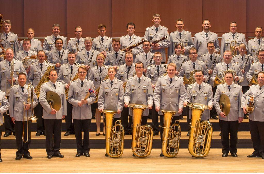 Musiker in Uniform: Das Heeresmusikkorps Ulm (hier ein Foto aus dem Jahr 2015). Foto: