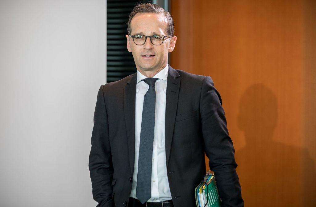 Bundesjustizminister Heiko Maas fürchtet, dass sich in der Bevölkerung das Gefühl, nicht einmal in den eigenen vier Wänden sicher zu sein, verstärken könnte. Foto: dpa