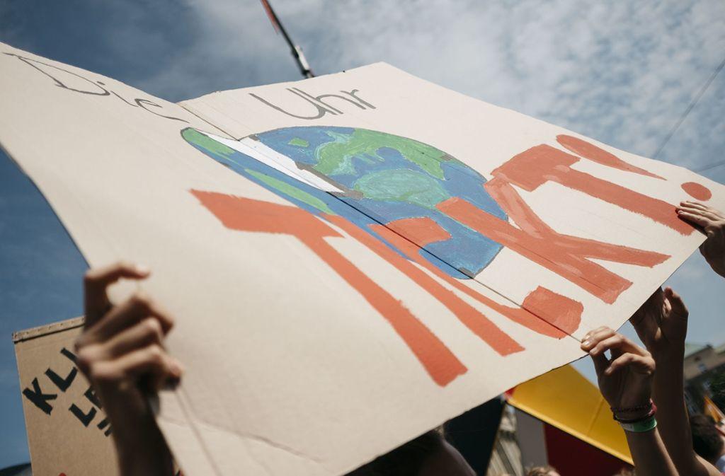 Seit Monaten gehen Schüler auf die Straße, um für mehr Klimaschutz zu demonstrieren. Foto: Leif Piechowski