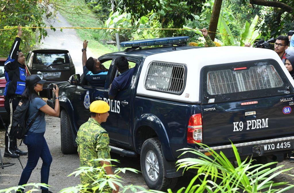 Bei der Suche nach dem Mädchen fand die Polizei eine Leiche. Foto: Dusa Abas/BERNAMA/dpa