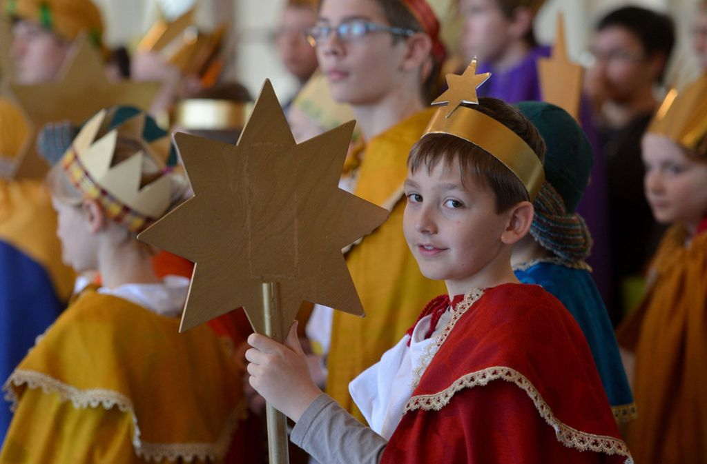 Bibelwissen: Die Heiligen Drei Könige  sind Weise aus dem Morgenland. Foto: dpa