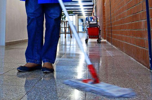 Obwohl Sauberkeit gerade so wichtig ist