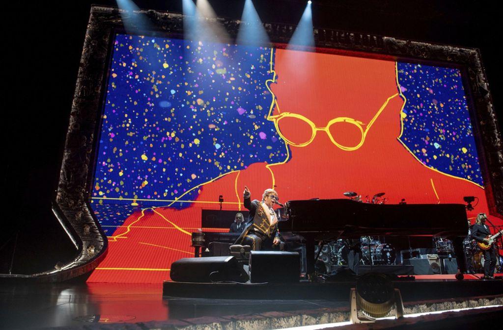 Sir Elton John kommt 2019 wieder nach Stuttgart: Am 11. Mai in der Schleyerhalle. Foto: dpa