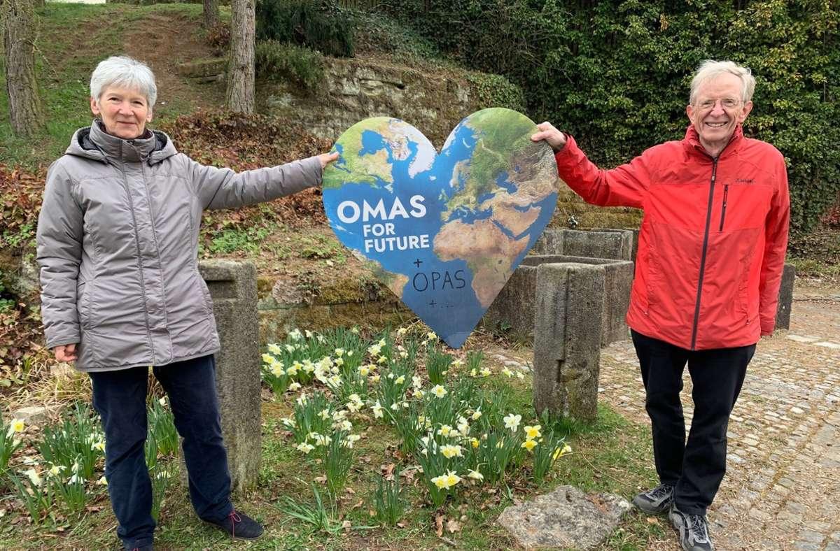 Das Böblinger Ehepaar Rau setzt sich mit Verve  für den Naturschutz ein Foto: Rau