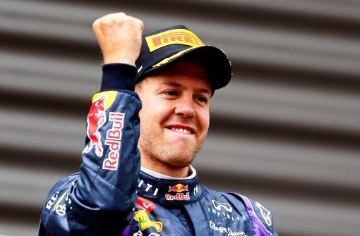 Sebastian Vettel triumphiert in Belgien