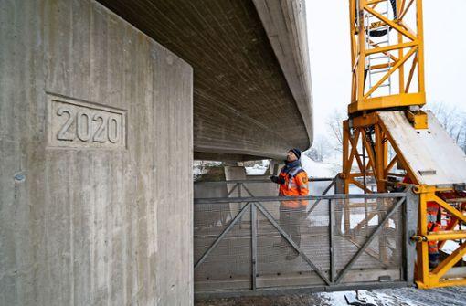 Verkehr über B-10-Brücke fließt wieder