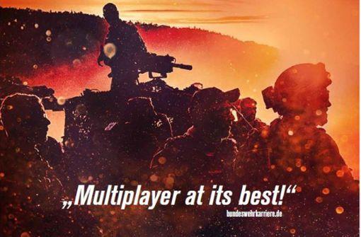 Bundeswehr sorgt mit Plakatwerbung für Ärger