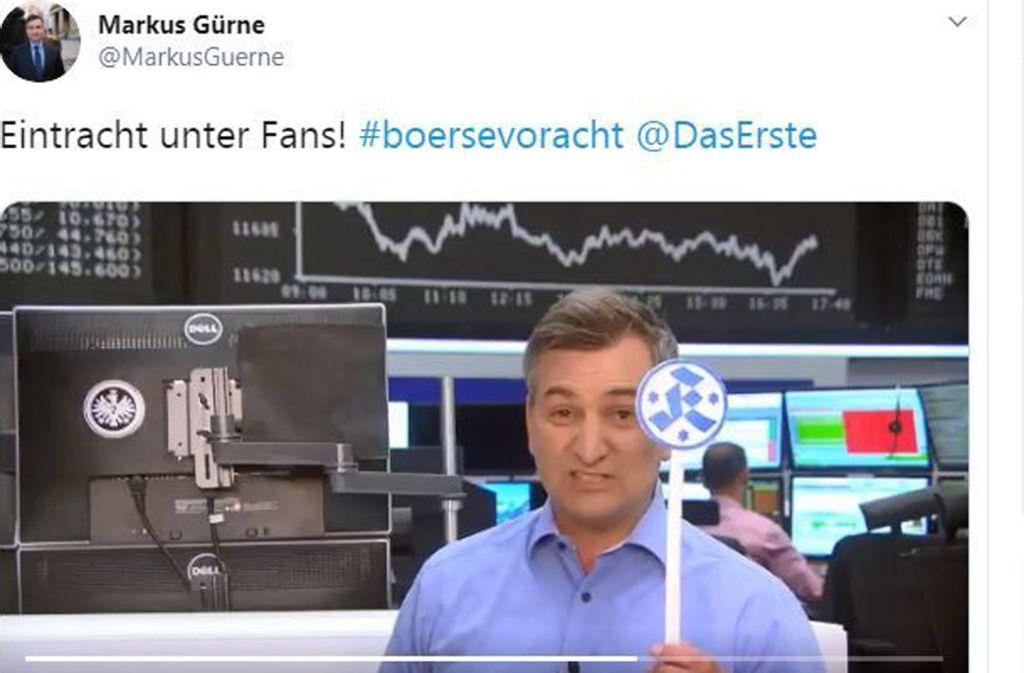 """ARD-Journalist Markus Gürne in der ARD-Sendung """"Börse vor acht"""". Foto: Screenshot"""