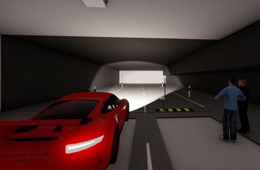Porsche baut einen neuen Lichtkanal