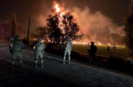 Opferzahl nach Pipeline-Brand steigt auf mehr als 60