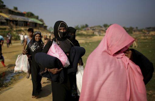 Myanmar will Rohingya-Flüchtlinge wieder aufnehmen