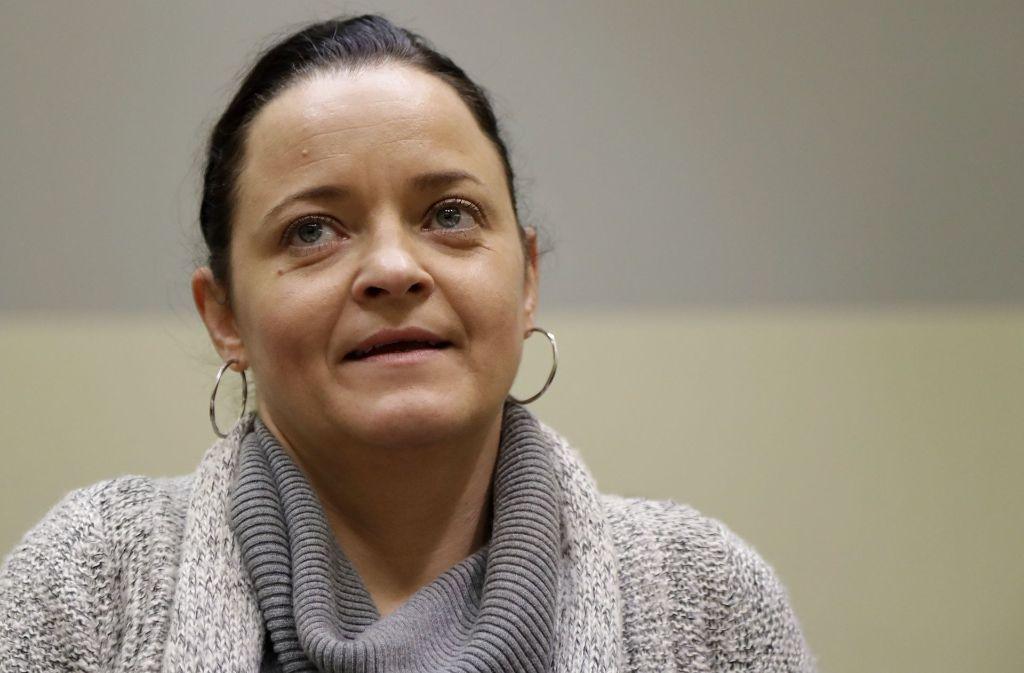Zschäpe ist die Hauptangeklagte im NSU-Prozess am Oberlandesgericht München. Foto: AP