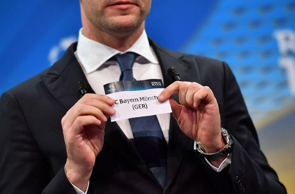 In Nyon wurde das Viertelfinale ausgelost. Foto: AFP