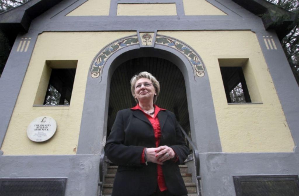Helga Schneller kennt in Hoheneck alles und jeden Foto: factum/Granville