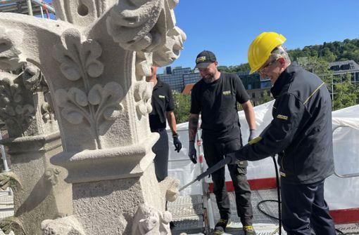 Warum Kärcher die Fassade der Johanneskirche putzt