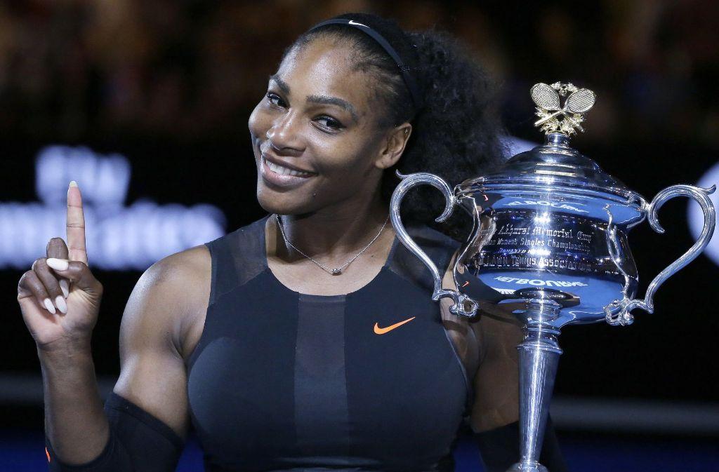 Für die Augustausgabe der Vanity Fair hat sich Serena Williams nackt fotografieren lassen. Foto: AP