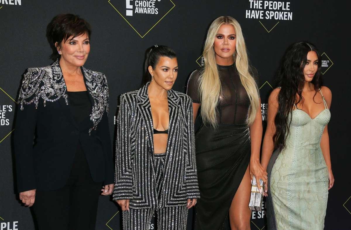 Die Reality-Show um den Kardashian-Jenner-Clan  soll 2021 enden. Foto: AFP/JEAN-BAPTISTE LACROIX
