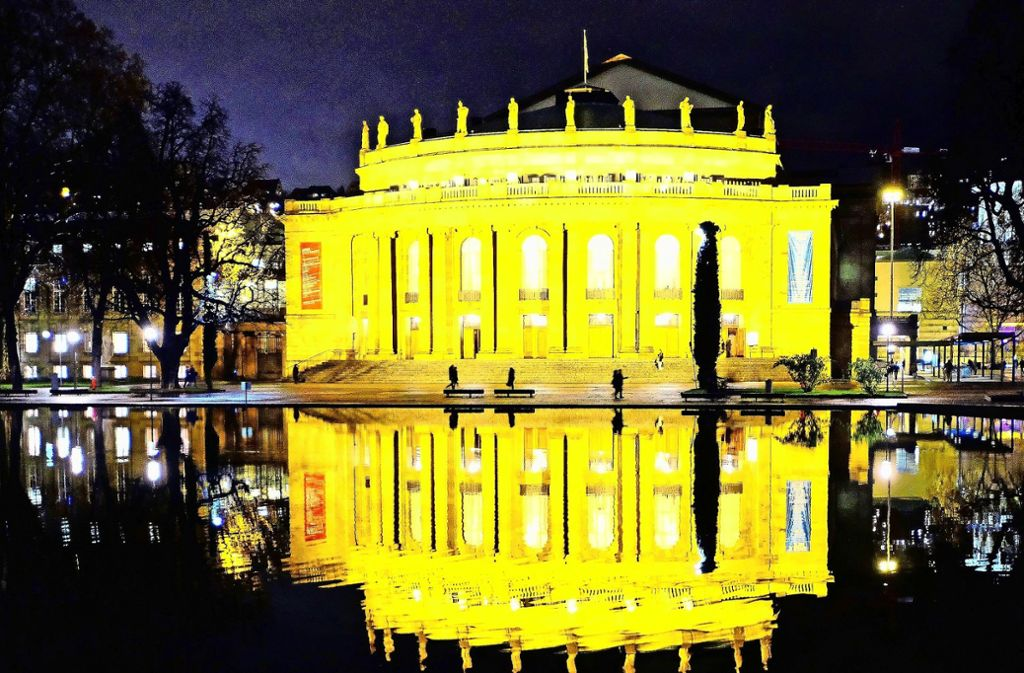 Sanieren oder neu bauen? Die Diskussion um die Zukunft der Stuttgarter Oper erlebt vor dem Hintergrund der anstehenden Kommunalwahl  immer neue Wendungen. Foto: dpa