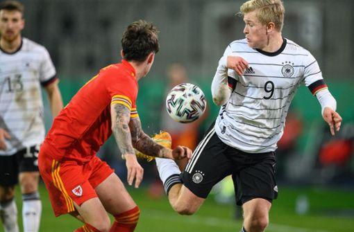 Team von Stefan Kuntz  gewinnt zum Abschluss gegen Wales