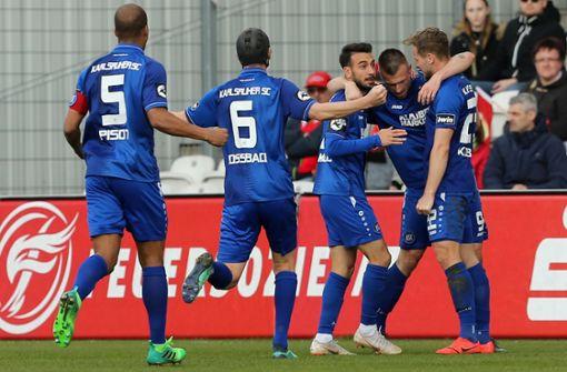 ARD zeigt Partie zwischen 1860 München und Karlsruher SC live