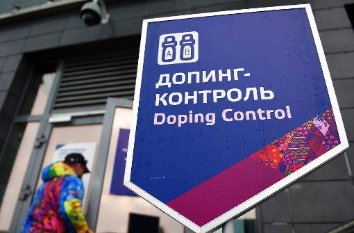 Russen gestehen systematisches Doping in Sotschi