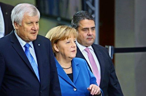 Die große Koalition tagt im kleinen Kreis