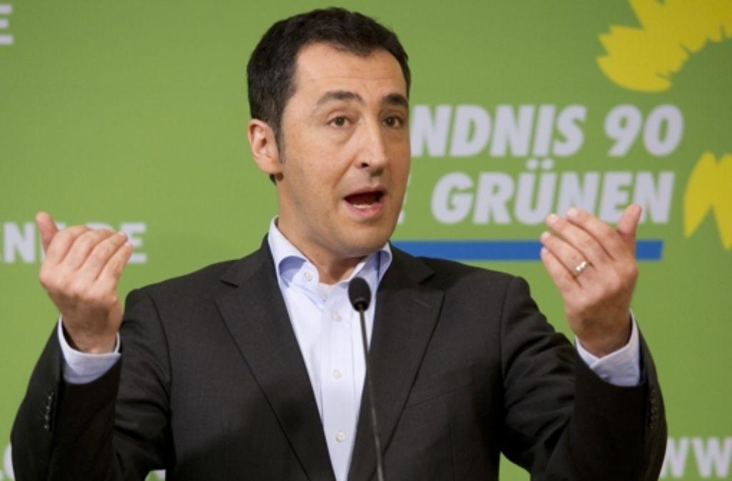 Cem Özdemir hofft auf eine demokratischere Türkei. Foto: dpa