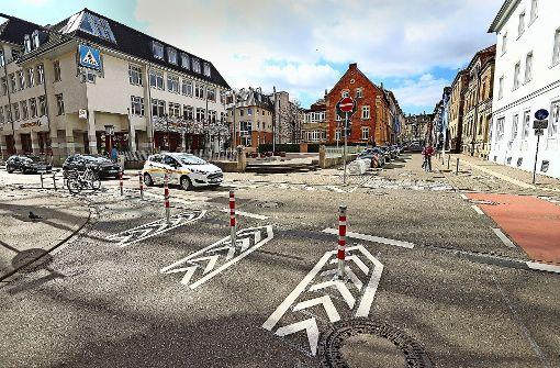 Teil der Alleenstraße ist nun eine autofreie Radlerstrecke