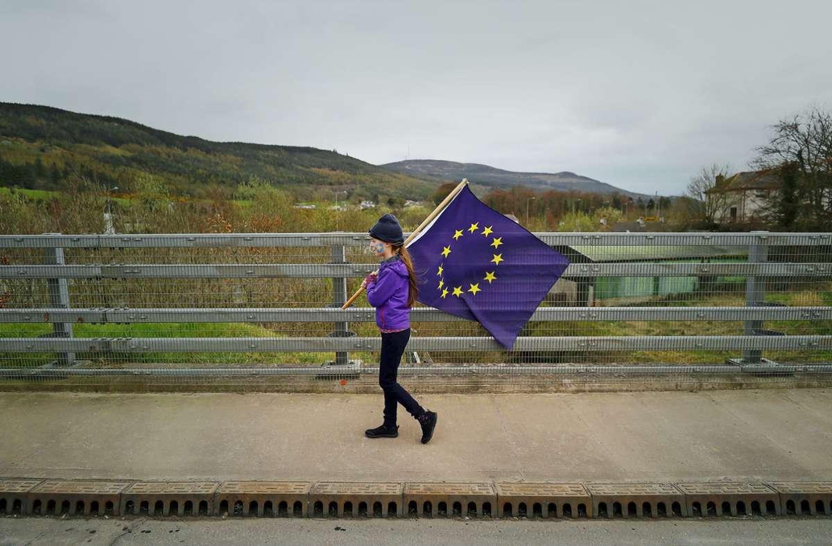 Viele Menschen in Nordirland wären gern in der EU geblieben. Foto: dpa/Niall Carson