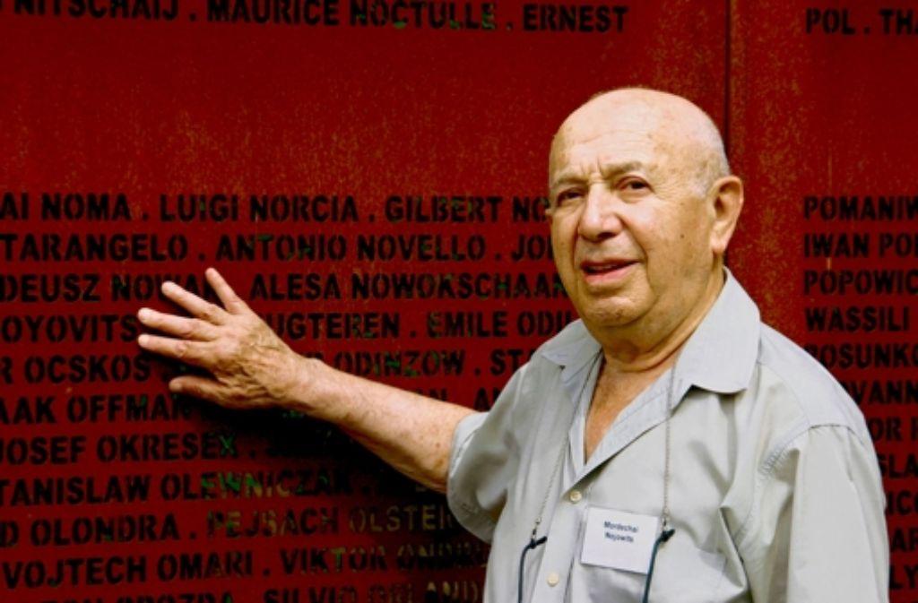 Mordechai Nojovits Foto: KZ-Ini Leonberg/Karen Mueller