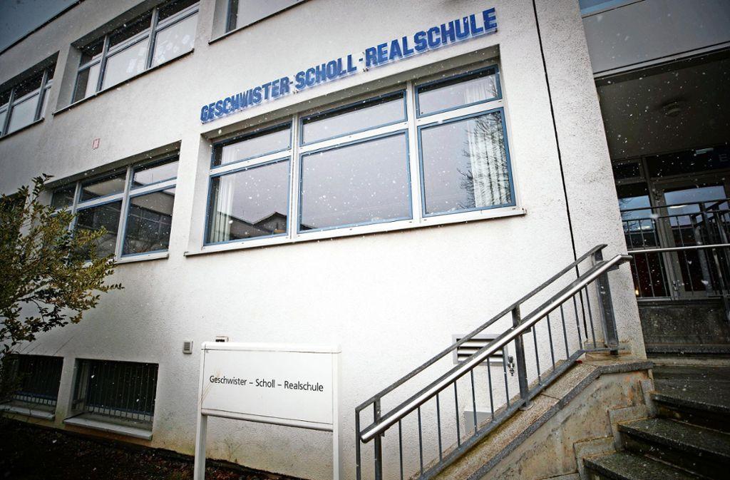 Die Geschwister-Scholl- und die Albertville-Realschule sind sehr gefragt. Foto:Gottfried Stoppel